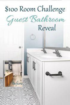 Bathroom Makeovers On A Budget, Diy Bathroom Remodel, Diy Bathroom Decor, Simple Bathroom, Bathroom Renovations, Bathroom Interior, Bathroom Organization, Bathroom Storage, Bathroom Plants