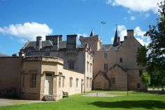 Brodie Castle, Moray Region of Scotland Brodie Castle, Scottish Castles, North West, Scotland, Mansions, House Styles, Palaces, Don't Forget, Palace