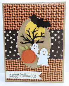 HALLOWEEN SCENE Card Kit - created with Stampin Up, Memory Box and others by Dani 114