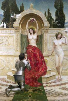 Tannhäuser in the Venusberg, 1901  John Collier (1850–1934)