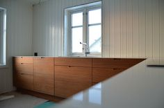 custom teak cabinetry in Norway - from stuff that makes my heart beat faster