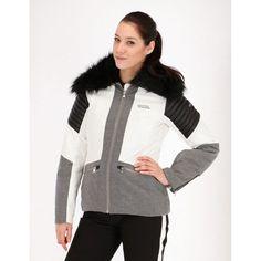 Tenson, Cortina, ski-jas, dames, wit
