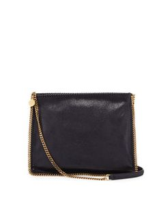 Falabella Medium Crossbody Bag, Navy by Stella McCartney at Neiman Marcus.