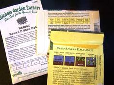 8 Things to Look for on a Seed Packet -A good seed packet should give you much of the info you need to know to grow that plant. Here's what to look for, and why: - See more at: http://www.hortmag.com/blogs/gardening-blog/8-things-to-look-for-on-a-seed-packet#sthash.dXtRDsqK.dpuf