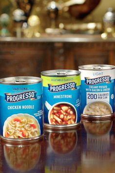 Progresso supplies a sumptuous soup for every palate! Bacon Cheese Potatoes, Bacon Potato, Wood Stove Cooking, Chicken Wing Recipes, 200 Calories, Apple Pie Recipes, Food Network Recipes, Hot Dog, Healthy Recipes