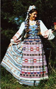 Costume of the Vilnius Region, Lithuania