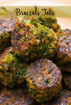 "Broccoli Tots | These ""Tater Tots"" Are Made Of Broccoli And They're Amazing As Life"