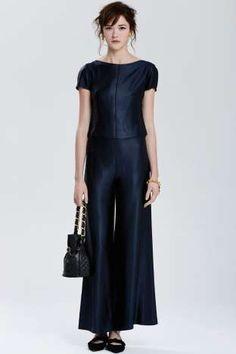 Vintage Chanel Colmar Satin Pant Suit