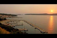 Sunset over Sphacteria - Pylos, Messinia