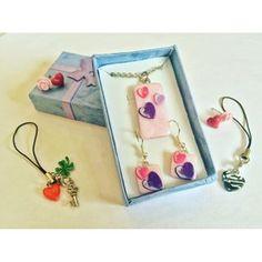 Charms, Drop Earrings, Instagram, Jewelry, Ear Jewelry, Necklaces, Fimo, Jewels, Schmuck