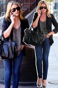Lo Bosworth classy outfit !!