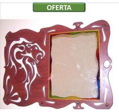 www.claf.cl Espejo León Calado