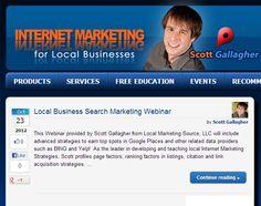 Free Education, Local Seo, Internet Marketing, Social Media, Learning, Business, Blog, Studying