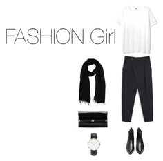 """FASHION Girl"" by carolarepetto on Polyvore featuring MANGO, Diane Von Furstenberg, Blue Les Copains and Daniel Wellington"