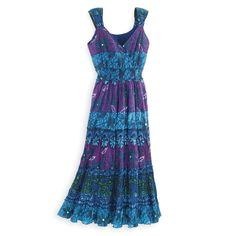 Eclectic Sun Dress - Casual Womens Clothing and Fashion Accessories - Exclusive Styles in Misses and Womens Plus Sizes | Serengeti
