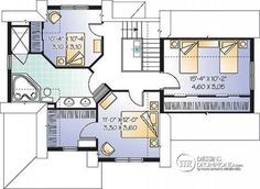 Détail du plan de Maison unifamiliale W2685