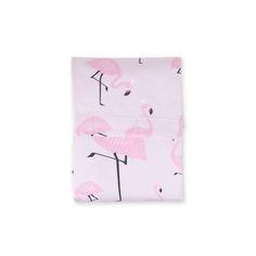 Lençol Berço Flamingo