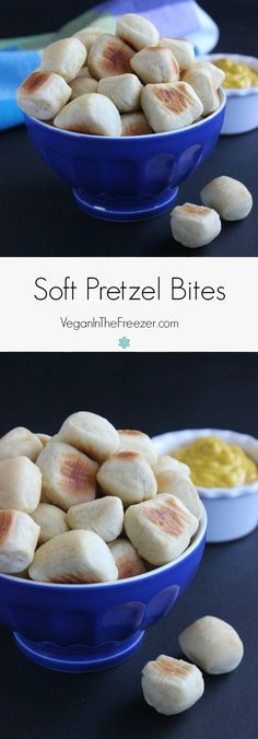 Fat Little Soft Pretzel Bites are soft and chewy just like they should be. Irresistible - pop one in your mouth and serve them with a variety of mustards.