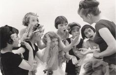 Ballet class with deaf girls. Image description: a woman is talking to a group of small girls in leotards. My biggest dream: opening a deaf dance studio Zurich, Deaf Children, Deaf People, History Of Photography, Vintage Photography, Deaf Culture, Ballet Class, Political Events, Close My Eyes