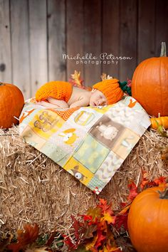 Fall newborn photo. My <3