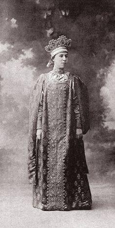 Mademoiselle Nathalie Zveguintzew (Jeune fille boyard du XVII siecle en costume d'interieur) Image 129 by klimbims on deviantART
