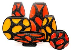 www.mush.co #rothpottery #vintagegermanpottery #rothvase