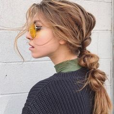 """1,717 Likes, 15 Comments - Mane Addicts (@maneaddicts) on Instagram: """"A laid-back bubble ponytail is our kinda Saturday style👌🏽Pony perfected by @katkoncept 🐴"""""""