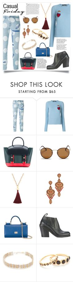 """""""fashion for all"""" by monica022 ❤ liked on Polyvore featuring STELLA McCARTNEY, Dolce&Gabbana, Sacai, Ray-Ban, Gorjana, Miguel Ases, Marsèll, Eddie Borgo, Tiffany & Co. and Balmain"""