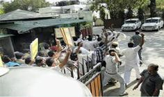 Security lapse at Shinde house  : Jats Protesters entered into the Shinde house, 13 police personnel in charge of negligence on the victim