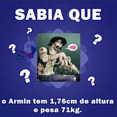 Curiosidades sobre o Armin. :3