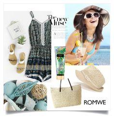 """""""Romwe"""" by bellamonica ❤ liked on Polyvore featuring Pier 1 Imports and Victoria's Secret"""