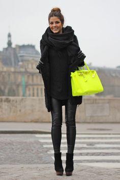 Avec un autre sac, plus discret.