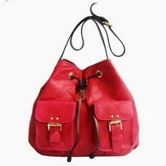 New Fashion Mulberry Leah Shoulder Bags Red c34a23ee62eec