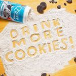 Cookies & Cream protein power with real cookie pieces!