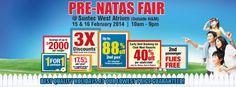 Dynasty Travel Pre-NATAS Travel Fair 2014 Suntec West Atrium (Outside H&M) 15 & 16 February 2014 10am - 9pm