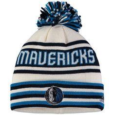 Dallas Mavericks adidas Youth Cuffed Knit Hat With Pom - Navy