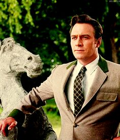 Captain Von Trapp (always thought he was so handsome) classically dashing