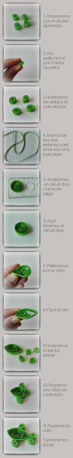 Serpentina, Quilling Tutorial, Plastic Cutting Board, Origami, Diy, Crafts, Random, Paper Art, Paper Engineering