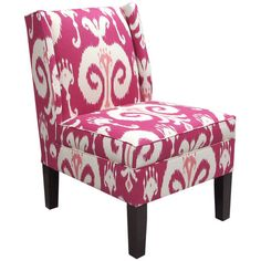 I pinned this Ikat Wingback Chair from the Best of Curator's Collections 2012 event at Joss and Main!