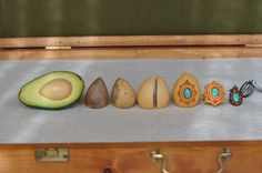 avocado seed carving