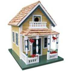 Newburyport Yellow Cottage Birdhouse