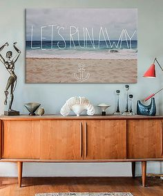 Leah Flores Lets Run Away To The Sea Gallery-Wrapped Canvas   zulily