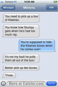 Texts From Mittens: The Treat-Mania Edition | Catster