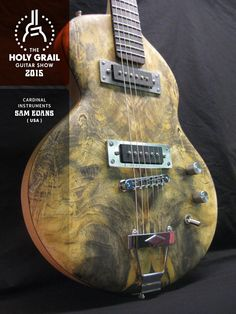 Exhibitor at the Holy Grail Guitar Show 2015: Sam Evans, Cardinal Instruments, USA. www.cardinalinstruments.com www.facebook.com/pages/Cardinal-Instruments/122661538810 www.holygrailguitarshow.com/exhibitors/cardinal-instruments/