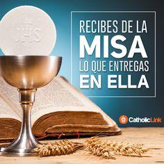 Biblioteca de Catholic-Link - Recibes de la Misa lo que entregas en ella