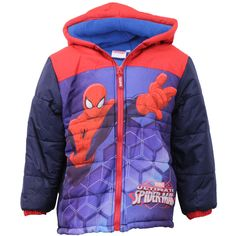 """Boys' Jacket Marvel 39052SPID Navy 2 Years. Boys' Stylish Jackets By Marvel/Disney. (39052SPID): """"Spiderman"""" Printed On The Front, Popper Button & Zip Fastening On The Front, Two Side Pockets With Zip Fastening & Detachable Hooded Neckline With Popper Button Fastening. (530541MIC): """"Mickey Mouse"""" Printed On The Front, Popper Button & Zip Fastening On The Front, Two Side Pockets With Zip Fastening & Detachable Hooded Neckline With Popper Button Fastening. Body & Hood With Fleece Lining &..."""