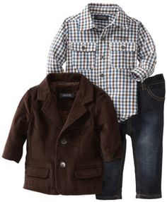 Kenneth Cole Baby-boys Infant Corduroy Blazer with Shirt and Jean, Brown, 12 Months Kenneth Cole,http://www.amazon.com/dp/B009YXLK12/ref=cm_sw_r_pi_dp_CIn1qb1D06MSW9X0