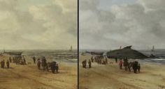 Se descubre una ballena varada oculta en una pintura holandesa del siglo XVII | Vista al Mar _ Peñíscola _