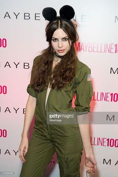Model Charlotte Kemp Muhl attends Maybelline New York's 100 Year Anniversary at IAC Building on May 14, 2015 in New York City.