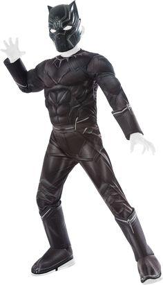 Rubie's Captain America: Civil War - Black Panther Deluxe